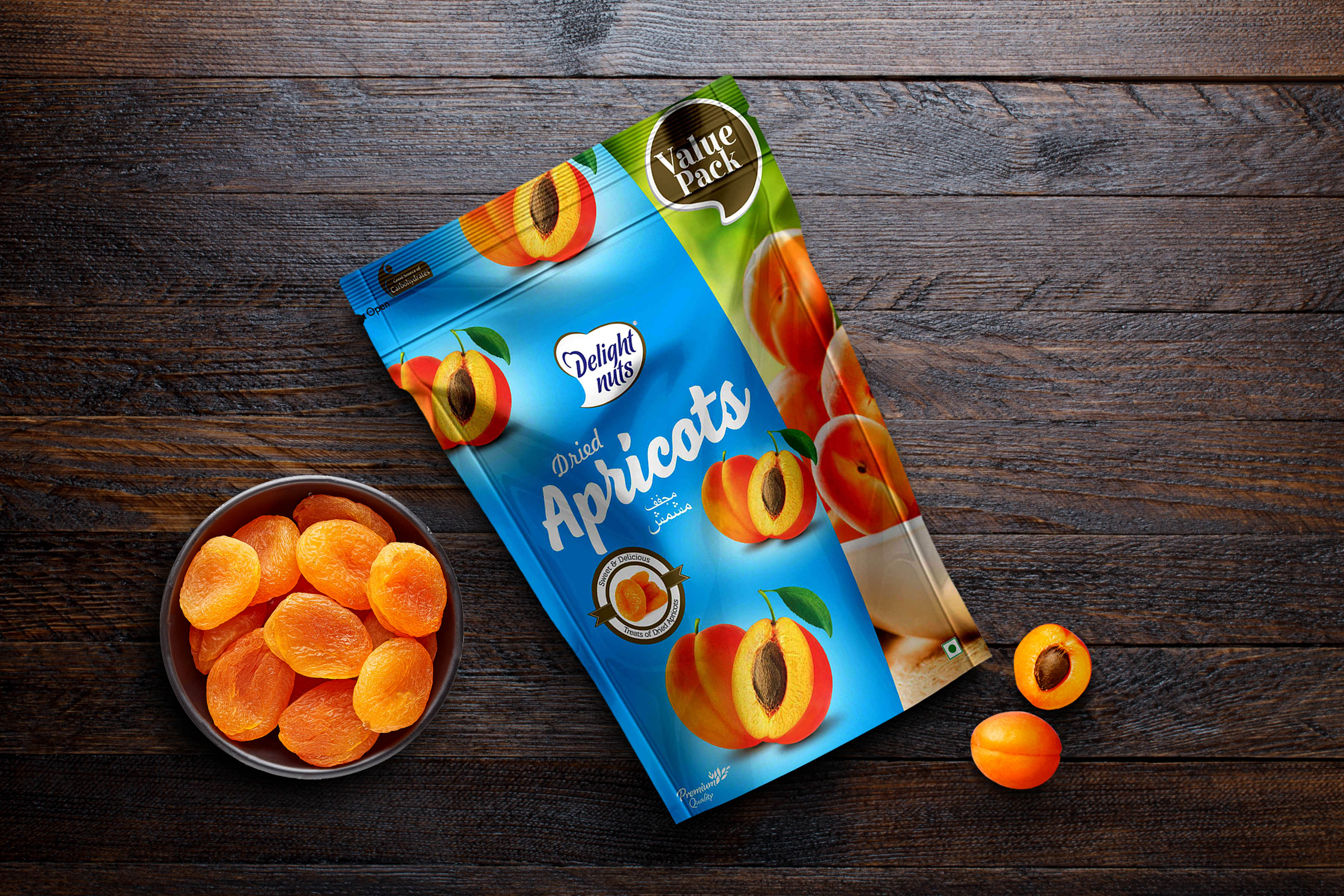 Delight Nuts - Dried Apricots