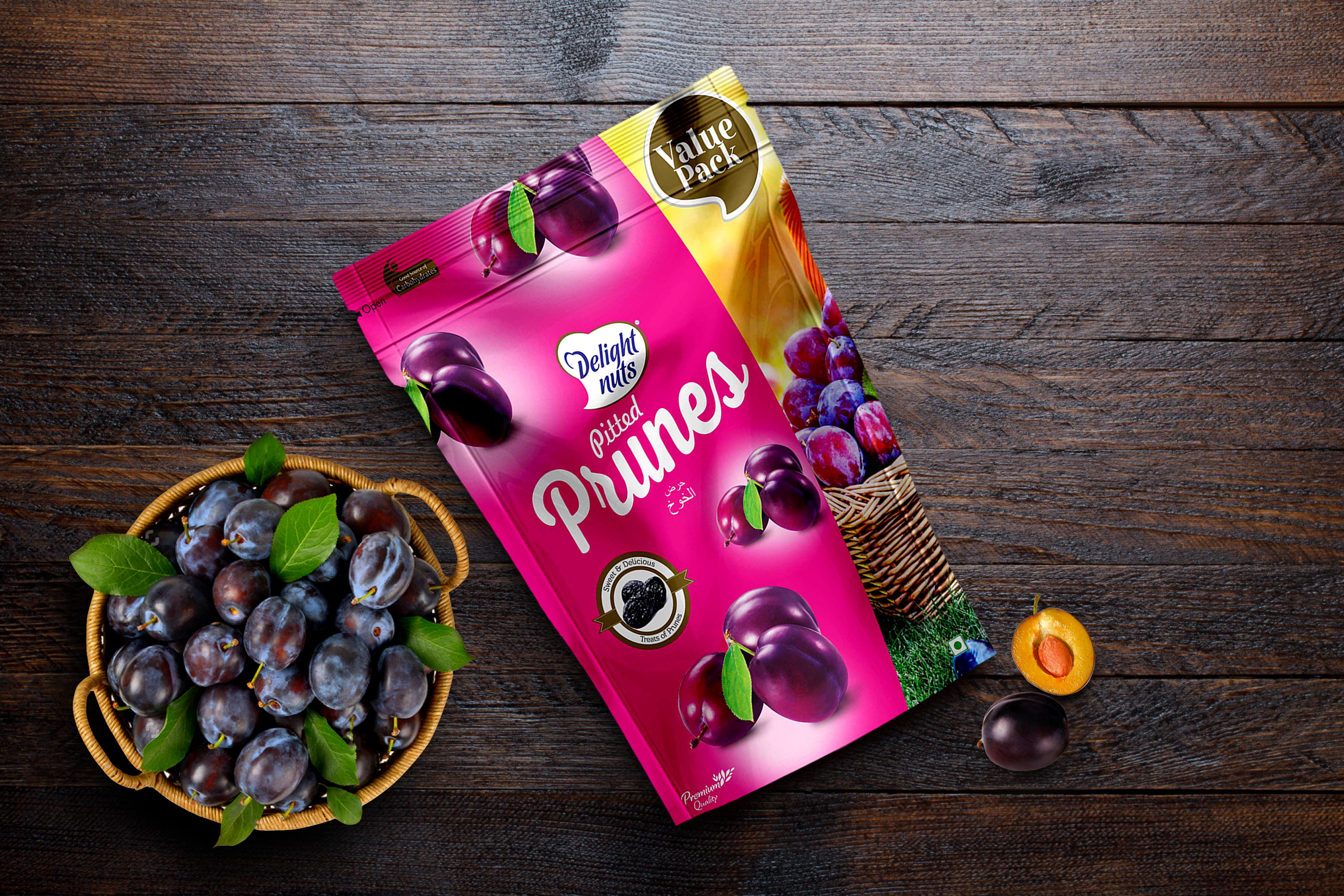 Delight Nuts - Pitted Prunes