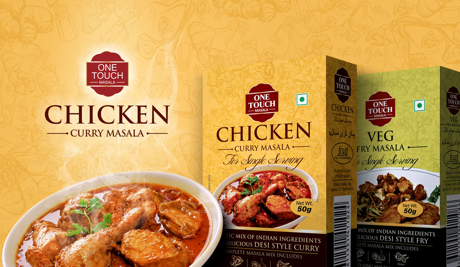 One Touch Masala – Chicken Curry Masala 3