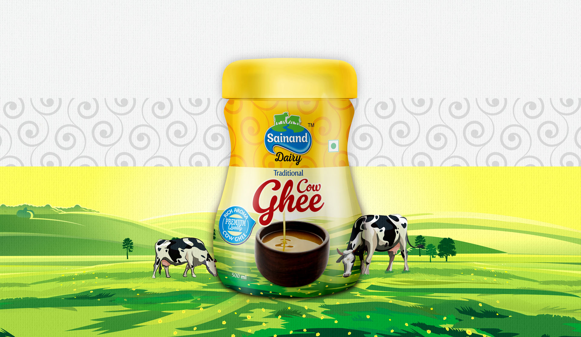 Sainand Dairy – Cow Ghee