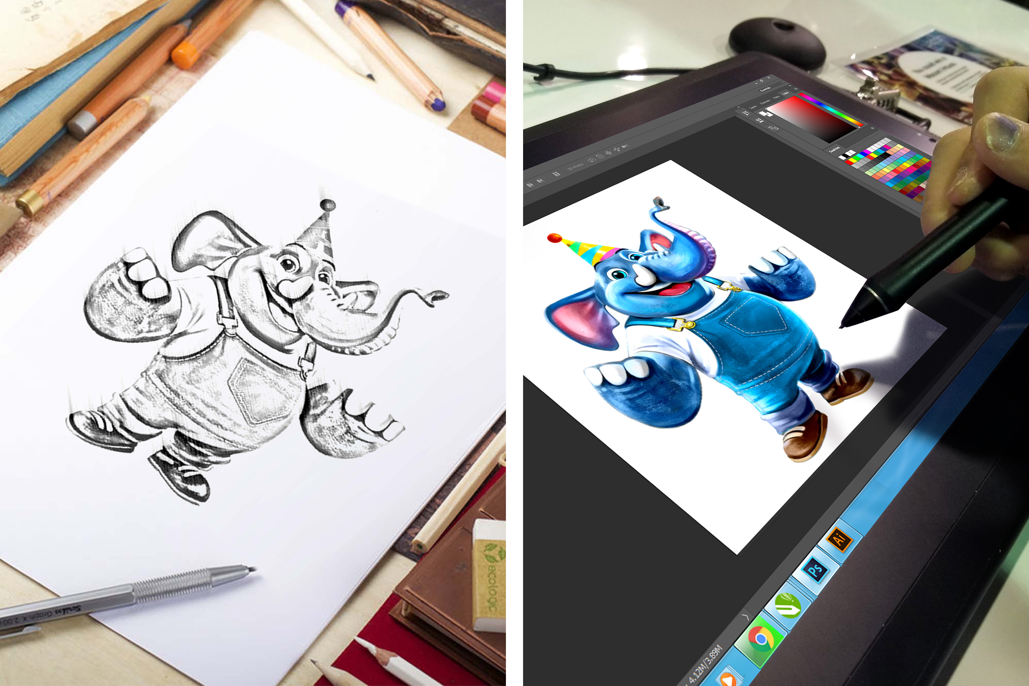 Zooper – Character Design Pad